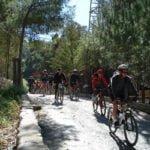 camping puente senderismo Vía verde con bicis 150x150 - VIAJES EN GRUPO
